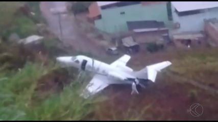 Seripa investiga acidente com avião em aeroporto de Juiz de Fora