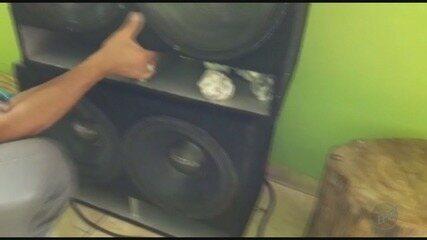 DIG apreende 23 porções de maconha em caixa de som em Ribeirão Preto