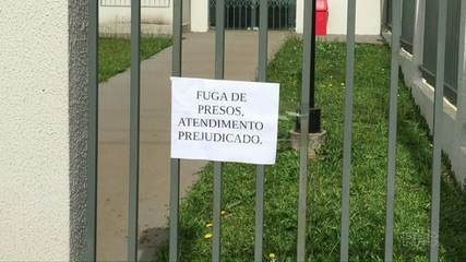 Presos cerram grades e fogem da delegacia de Palmas