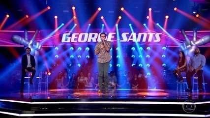 "George Sants canta ""Me Abraça"""