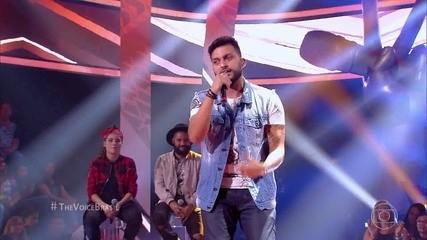 Felipe Maurente cantou 'Essa Mina É Louca'