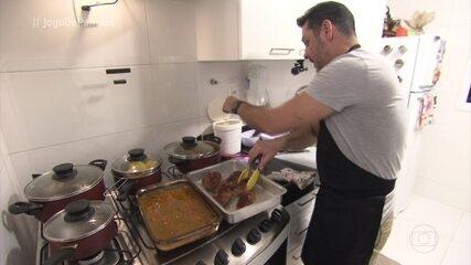 Paulo prepara 'Os Banquetes do Imperador' em seu jantar