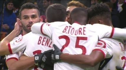 Os gols de Lyon 1 x 2 Lille pelo campeonato francês
