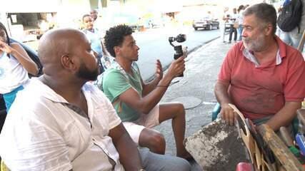O 'Vumbora' visita o bairro da Liberdade com o guia Mário Pam