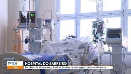 Hospital do Barreiro, em BH, passa a funcionar 100% dois anos após inauguração