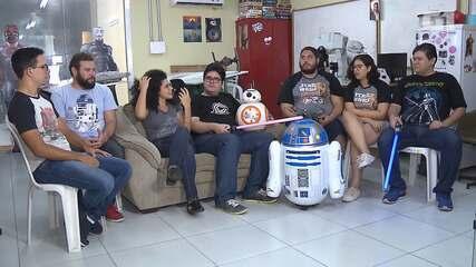 'Qual é a boa?' mostra a estreia do novo Star Wars