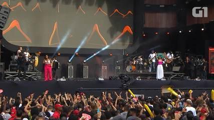 Festival de Verão: Simone e Simaria cantam '126 Cabides' na Arena Fonte Nova