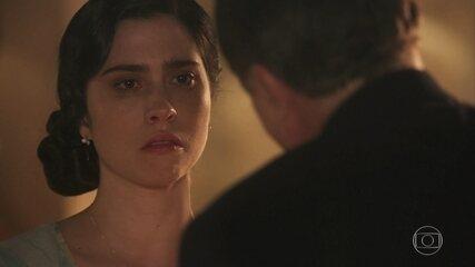Reveja cena emocionante de José Augusto reconhecendo Tereza como sua filha