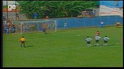 O gol de Corinthians 0 x 1 Desportiva Ferroviária pela Copa São Paulo de 1998