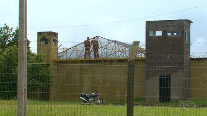 Polícia continua buscando por fugitivos da Cadeia Pública de Guarapuava