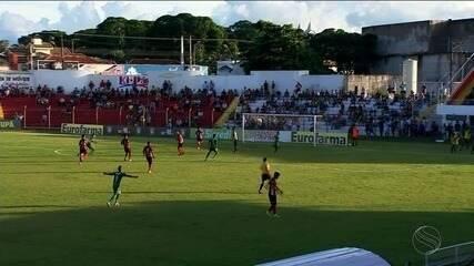 Copinha: Lagarto estreia com goleada sobre o Tupã