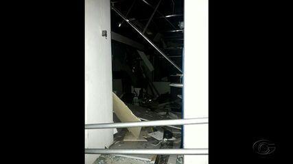 Bandidos explodem agência do Banco do Brasil em Quebrangulo