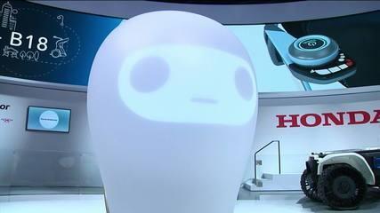 Robô é projetado para dar apoio emocional às pessoas