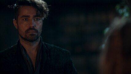 Teaser de 'Deus Salve o Rei' 12/01: Virgílio parte pra cima de Afonso