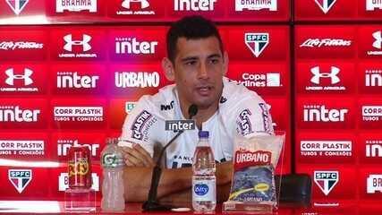 Veja como foi a entrevista de apresentação de Diego Souza no São Paulo