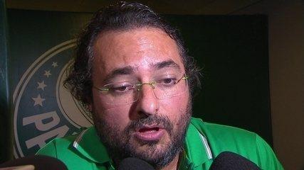 Palmeiras: Alexandre Mattos nega contatos por Geromel e fala de Keno, Dudu, Gil e Guerra