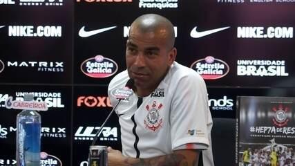 Emerson Sheik fala sobre o número da camisa no Corinthians
