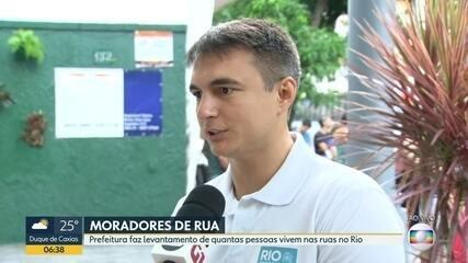 Número de moradores de rua no Rio triplicou em 3 anos, mostra censo