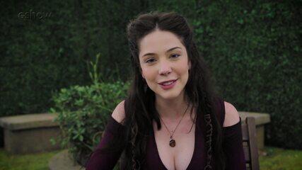 Bia Arantes fala sobre Brice, sua personagem em 'Deus Salve o Rei'