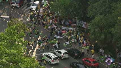 Manifestação a favor da Lava-Jato e contra corrupção ocorre no Parcão