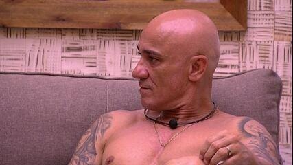 Ayrton fala sobre Ana Paula: 'Já estaria no Paredão de qualquer forma'