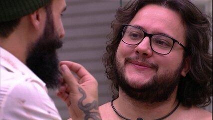 Diego fala sobre Mahmoud: 'A galera vai ficar no chamego com ele porque é o Líder'
