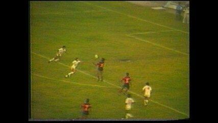 Luís Carlos marca gol pelo Sport sobre o Náutico