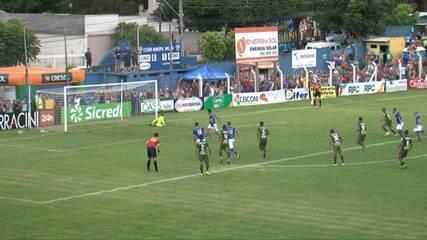 Veja os melhores momentos de União-PR 0x1 Coritiba, pela terceira rodada do Paranaense