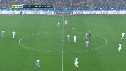Os gols de Olympique de Marselha 2 x 2 Monaco pelo Campeonato Francês