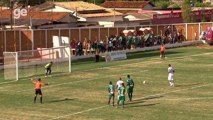 Os gols de Formosa 0 x 2 Gama pelo Campeonato Brasiliense 2018