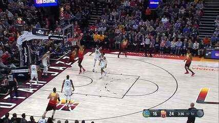 Melhores momentos: Jazz 129 x 99 Warriors pela NBA