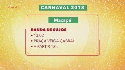 Confira a programação de Carnaval na sua cidade, no Agendão do Paneiro