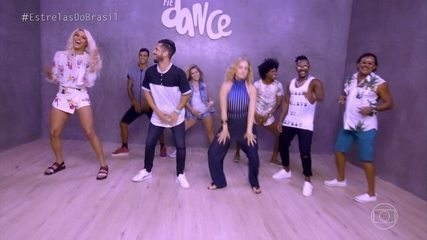 Pabblo Vittar e Angélica aprendem a dançar com Fit Dance