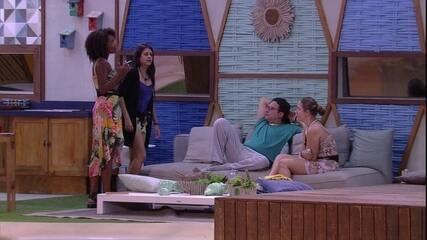 Diego avisa após Ana Paula e Patrícia opinarem sobre sisters: 'A gente não é do mal'