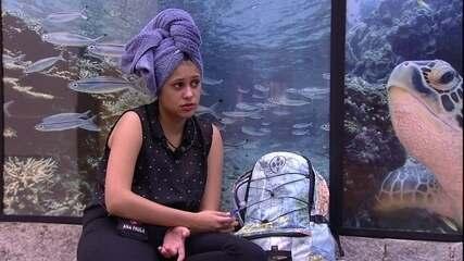Ana Paula sobre Mahmoud: 'Não me desce'