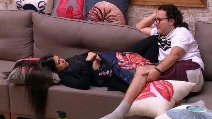 Diego revela tática para evitar Paredão com Ana Paula e Patrícia: 'Estou lá e cá'