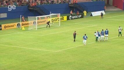 Veja os gols de Manaus 2 x 2 CSA, pela Copa do Brasil