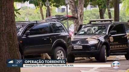 Polícia Federal deflagra nova fase da Operação Torrentes em Pernambuco