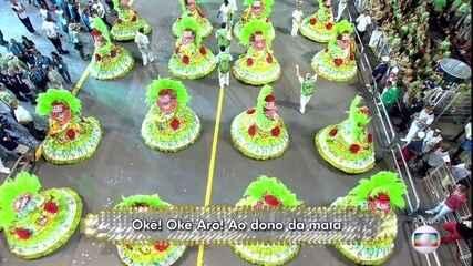 Samba da Mancha Verde homenageia o grupo Fundo de Quintal