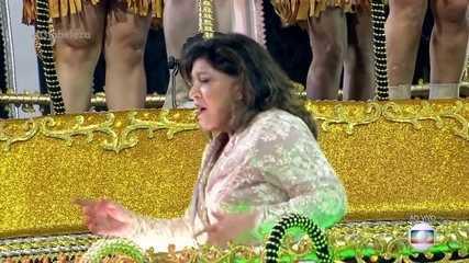 Roberta Miranda, destaque da Dragões da Real