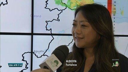 Meteorologista da Funceme fala sobre média de chuva no Ceará