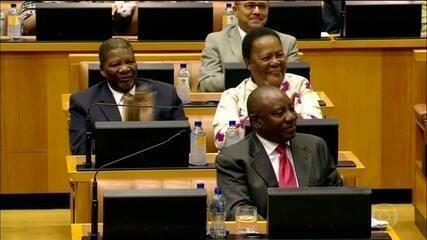 Novo presidente da África do Sul tomou posse hoje