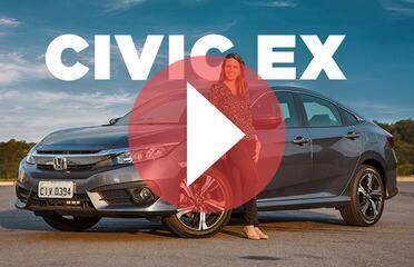 Honda Civic EX não tem motor turbo, mas é a versão que dá para ter na garagem