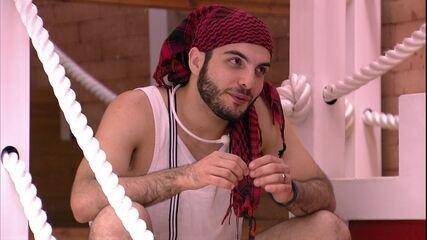 Mahmoud fala sozinho após Wagner deixar a cozinha: 'Gato! Pena que votou em mim'