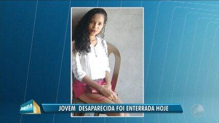 Jovem encontrada morta em saco de lixo é enterrada em Feira de Santana