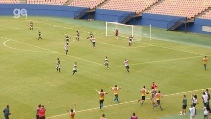 Veja os gols de Fast 4 x 1 Rio Negro, pelo Amazonense