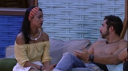Kaysar afirma sobre Lucas: 'Tem maturidade'