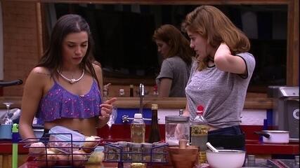 Ana Clara sobre doce de Paula: 'Naked cake do Tá com Nada'