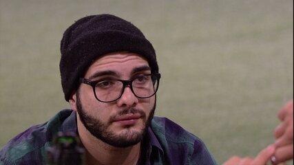 Mahmoud garante a Kaysar: 'Não vim para ser coadjuvante, vim aqui para ser protagonista'