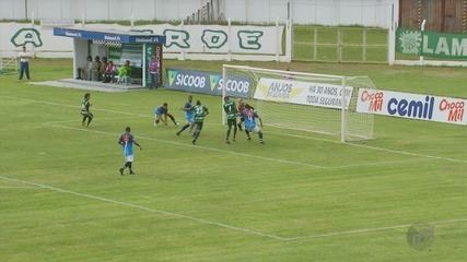 Caldense e URT ficam só no empate e não conseguem se afastar do Z-2 no Mineiro
